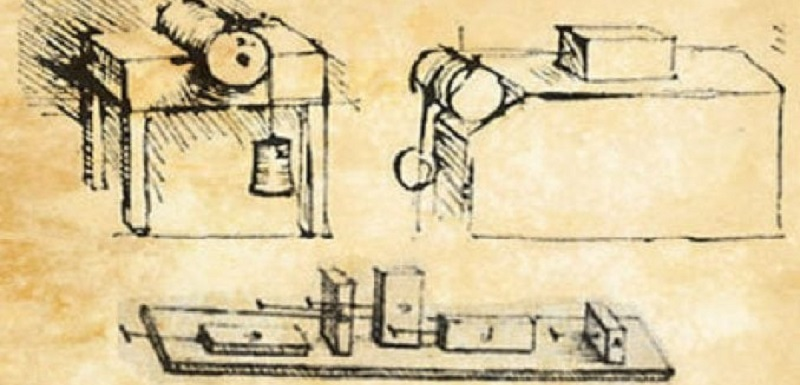Leonardo da Vinci's experiments with friction underpinned the modern science of Tribology.