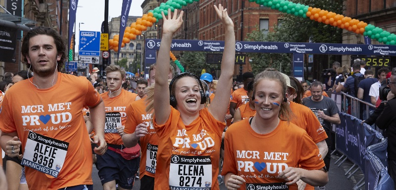 The Simplyhealth Great Manchester Run is using Manchester Metropolitan's crowd science algorithm Start Right to help improve planning for this year's event
