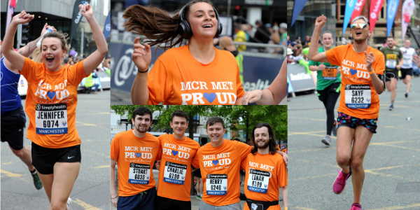More than 350 runners took part in the Manchester 10K