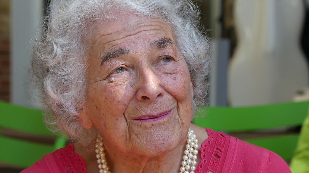 Judith Kerr, author of the Tiger Who Came to Tea, at the International Literature Festival Berlin in 2016, Christoph Rieger, CC BY-SA (https://en.wikipedia.org/wiki/Judith_Kerr#/media/File:Judith_Kerr_on_September_15,_2016_at_the_International_Literature)