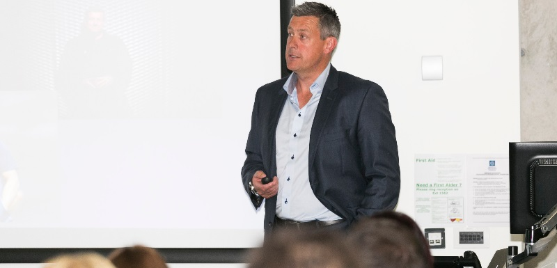 Ashley Giles graduated from the Master of Sport Directorship in 2017