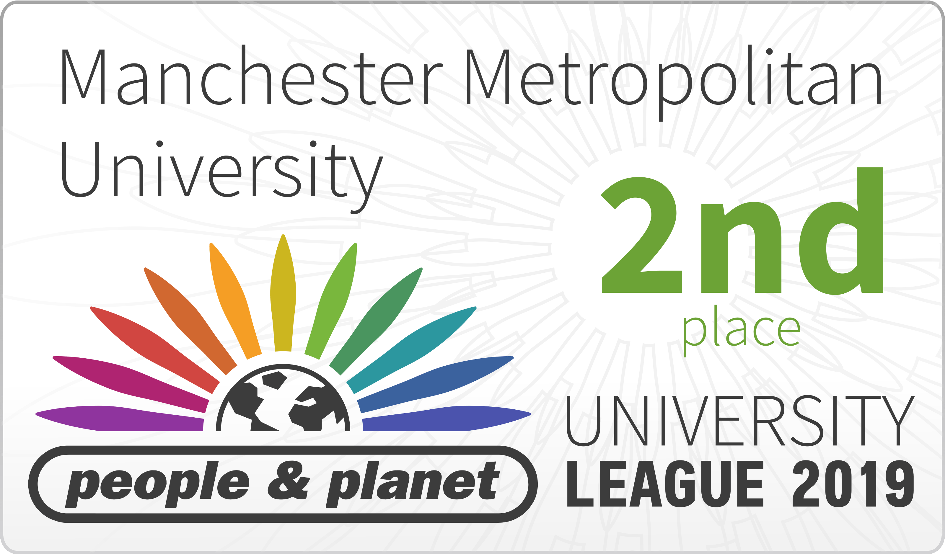 The University has been ranked in the top three for the past six league tables