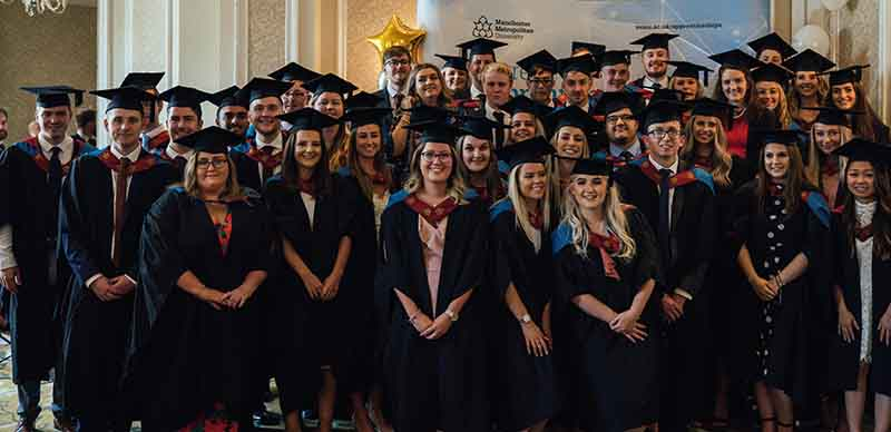 The 48 degree apprentices at their graduation
