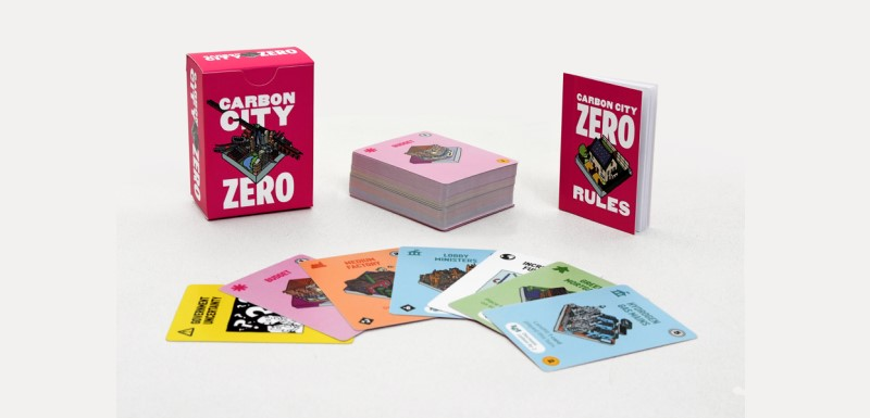 Climate change card game Carbon City Zero was designed by Dr Sam Illingworth, Senior Lecturer in Science Communication, and Dr Paul Wake, Reader in the Department of English, in collaboration with 10:10 Climate Action