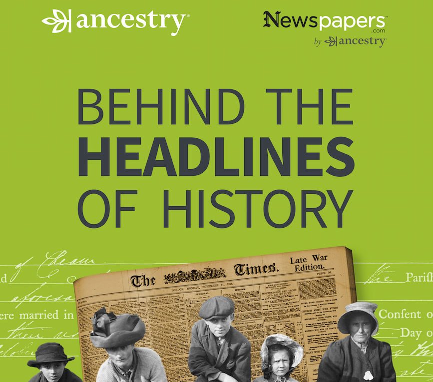Behind The Headlines of History is released each Tuesday until the beginning of November
