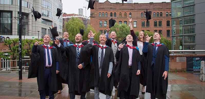 Master of Sport Directorship students celebrate their graduation