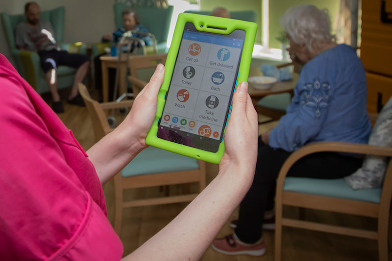 Memory Tracks creates a song-task association to make daily life of those living with dementia easier