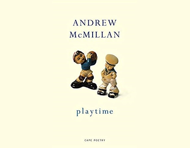 Andrew McMillan's poetry collection 'playtime' scooped the inaugural Polari Prize