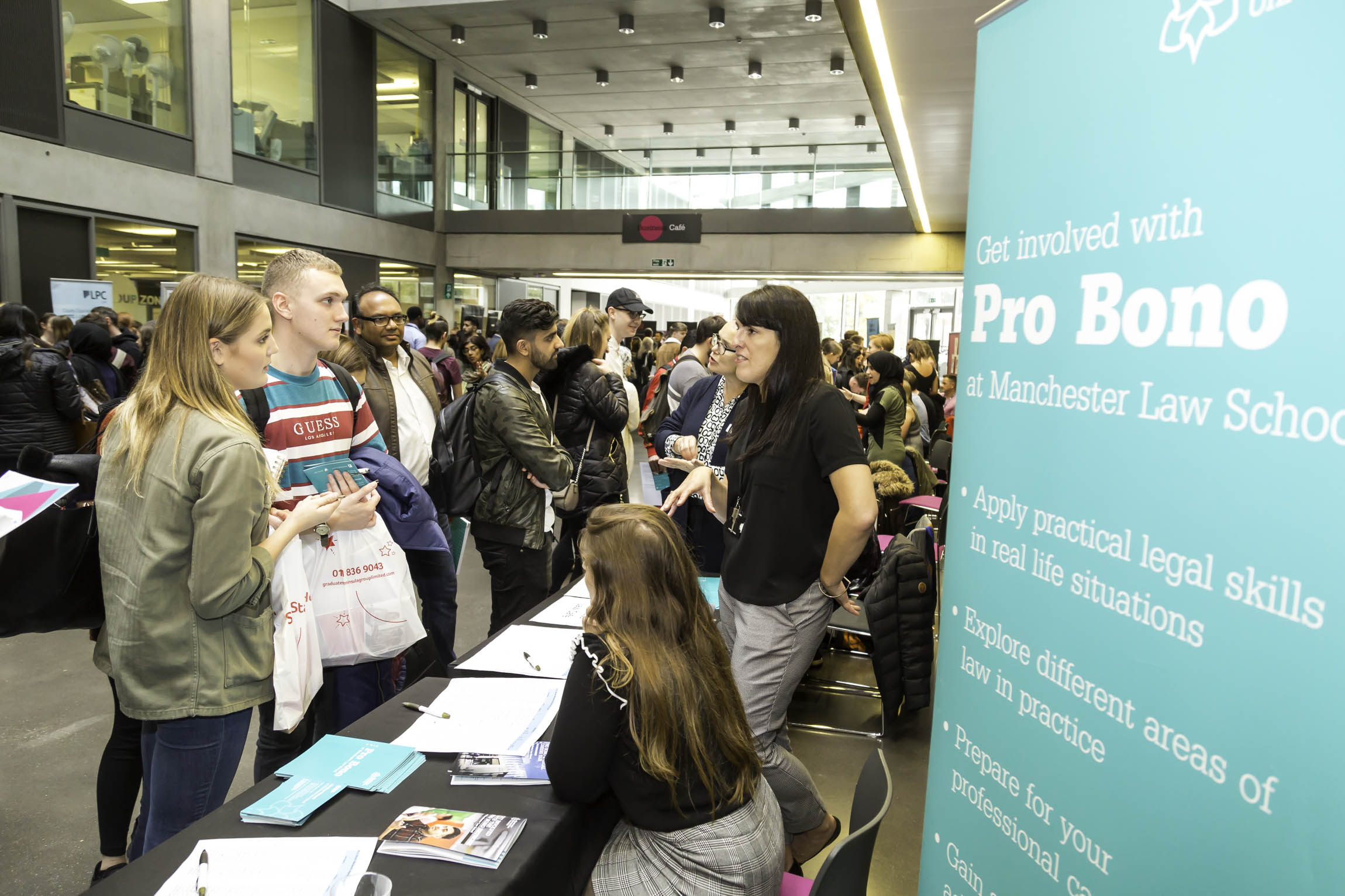 Over 720 students have signed up the Pro Bono Network in 2019