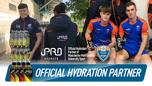 Pictured - University Rugby Union team enjoy benefits of iPRO partnership