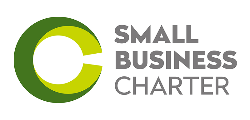 The Small Business Charter recognises the University's support for small businesses