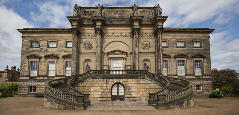 Kedleston Hall, one of the National Trust's country house properties