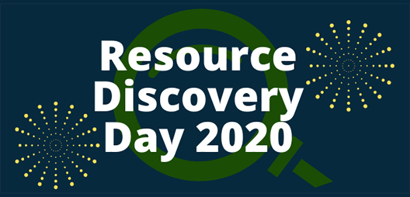 Resource Discovery Day