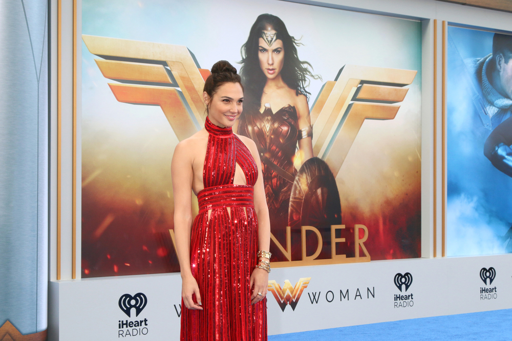Gal Gadot at 2017 Wonder Woman premiere. Credit: Kathy Hutchins / Shutterstock.com