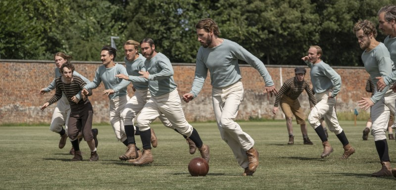 The English Game is a six-part drama following the birth of professional football in the UK. Oliver Upton/Netflix