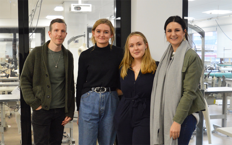 Fashion Design And Technology Students Collaborate With Old Navy Manchester Metropolitan University