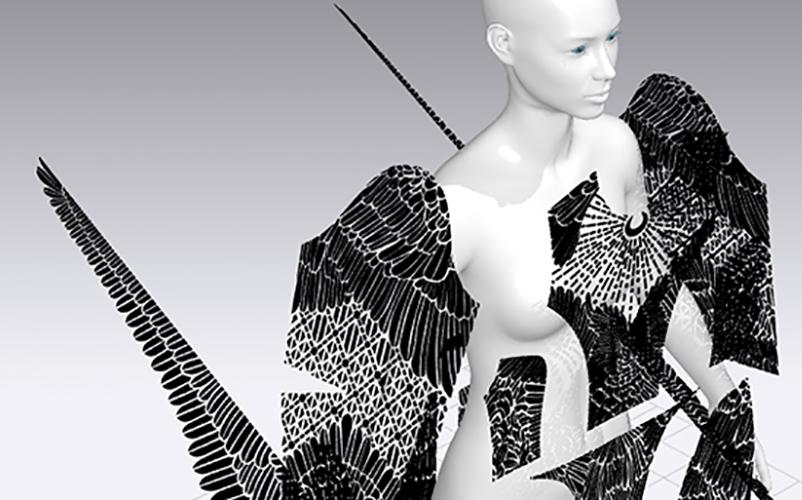 Student Work Showcased At First Digital London Fashion Week Manchester Metropolitan University