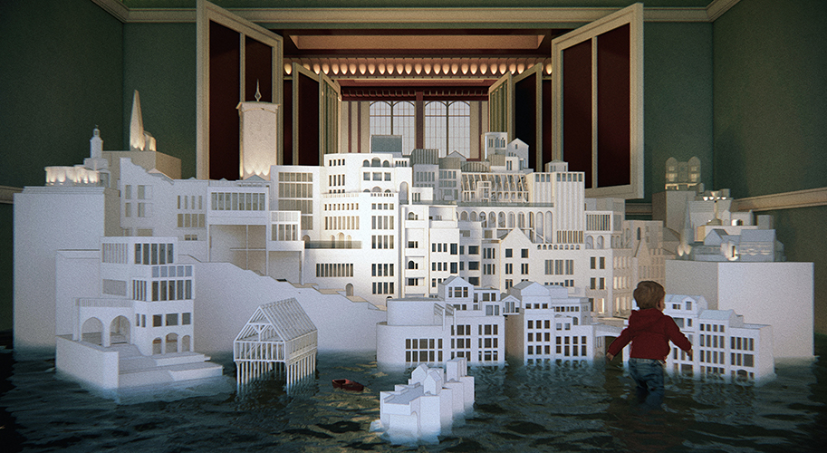 Image showing work City within a Room by Erin Edmondson and Jim Rapanut