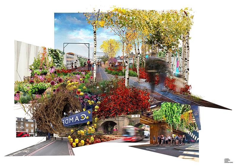 Image showing Camden Highline design vision