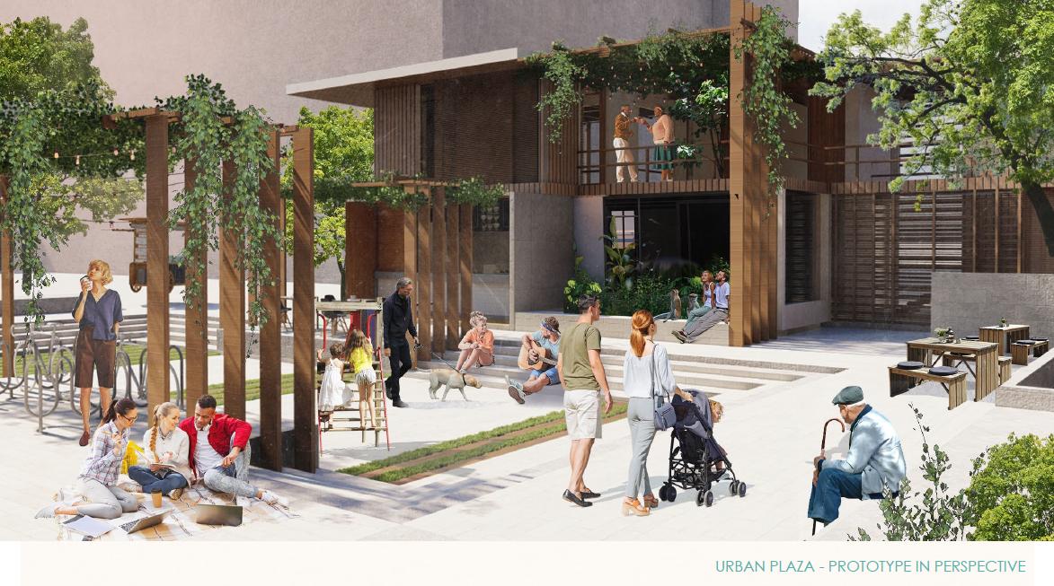 Urban Plaza Prototype design from Team 6