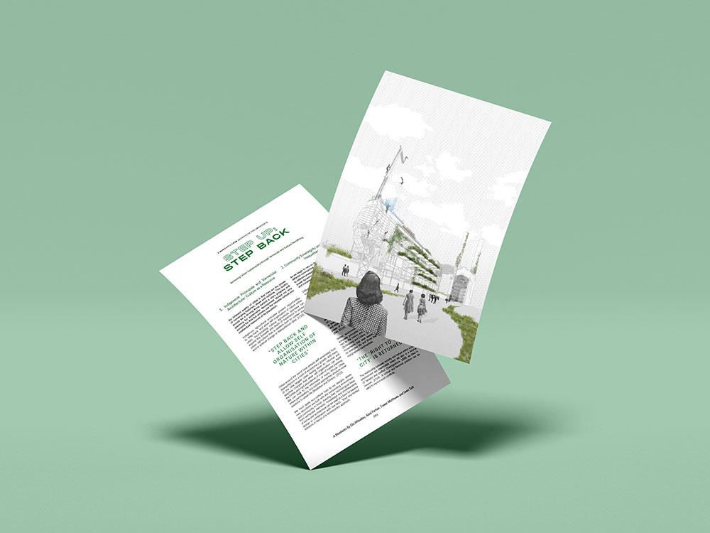 Image: BA2 Manifesto by Ella Wheatley, Abid Farhan, Fraser Matthews and Iwan Toft.