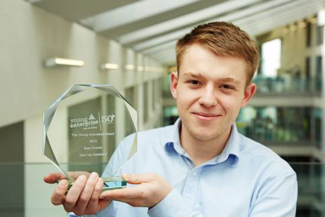 Image for Business student wins national Young Innovator award