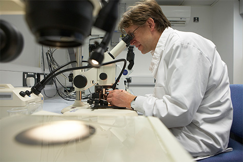 Every IVF scientist trained at Manchester Metropolitan