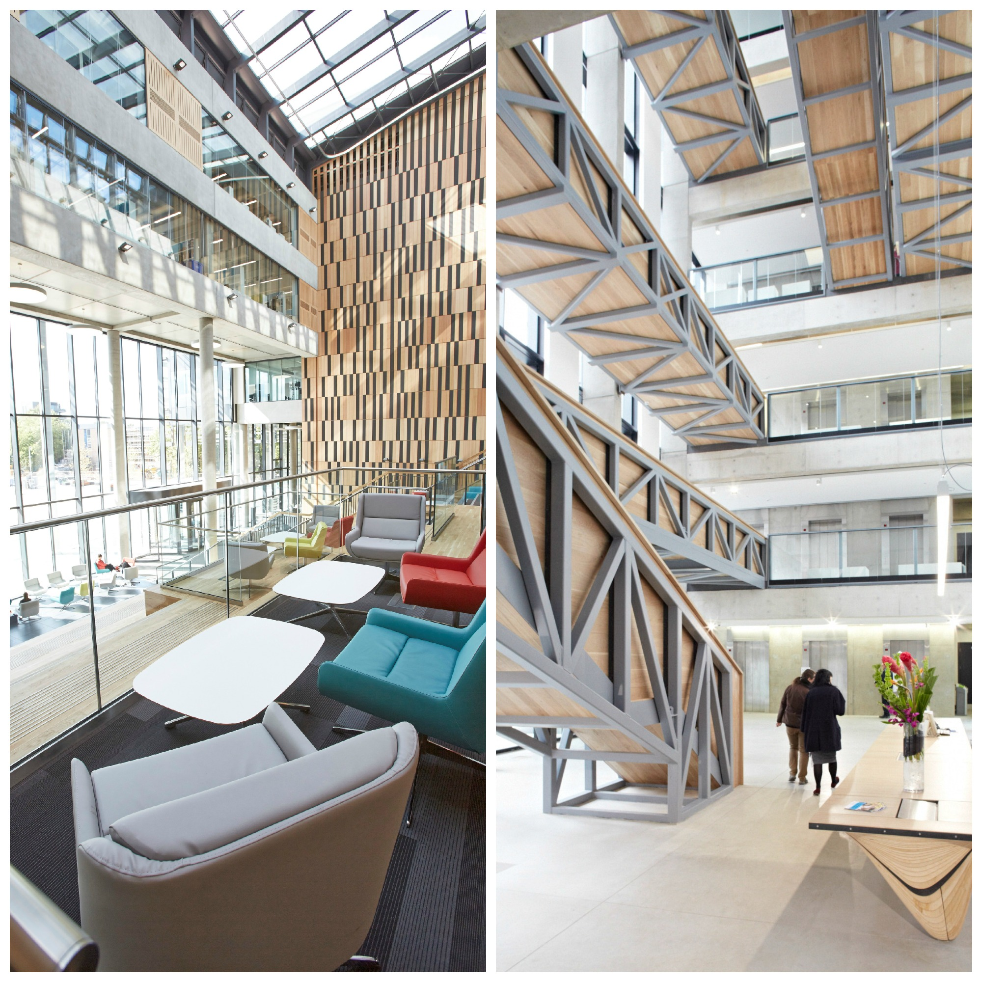 Birley Left Is Battling The Manchester School Of Art Right For RICS North Wests Design Through Innovation Award
