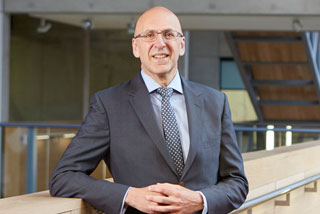 Professor Malcolm Press, Vice-Chancellor of Manchester Met