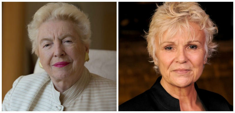 Dame Stephanie Shirley and Julie Walters each received an honour