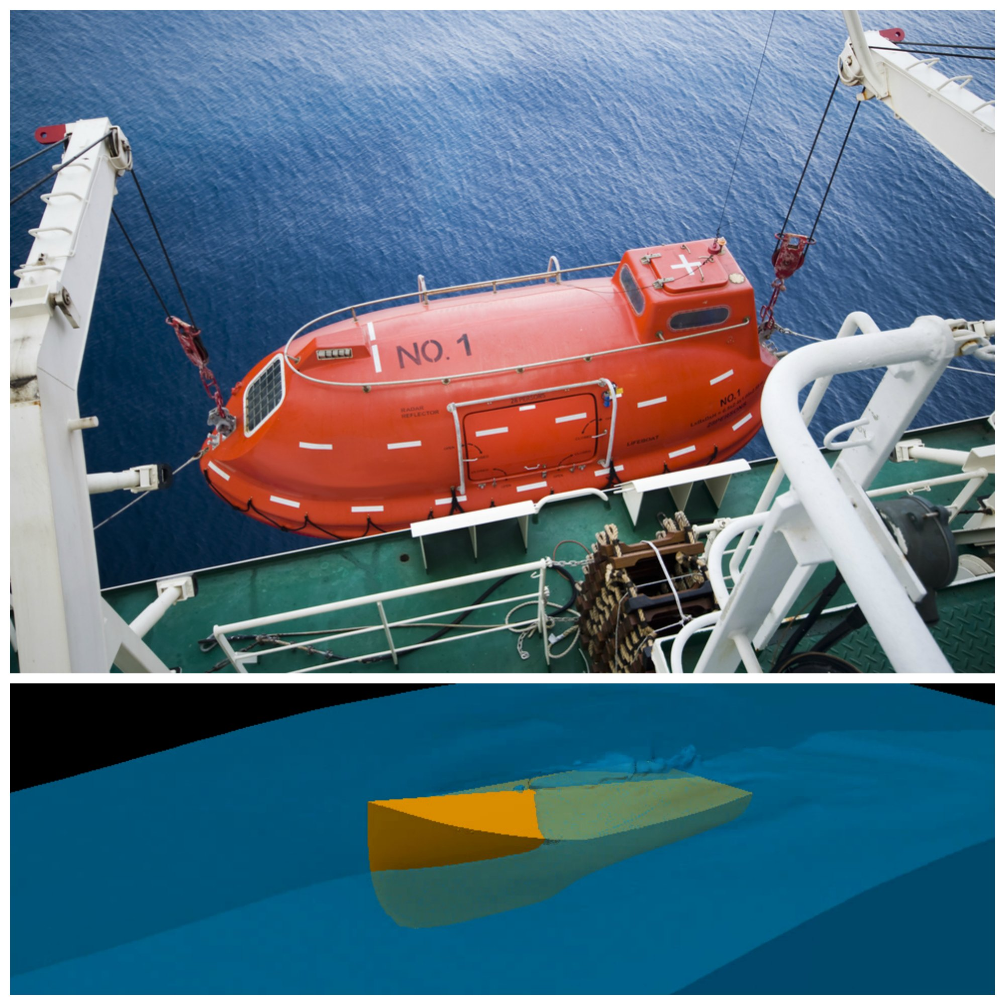 Computer models help safely launch lifeboats in rough seas