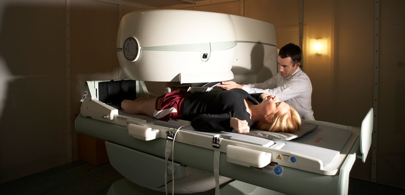 Scanning For Health's rare open coil weight-bearing MRI scanner