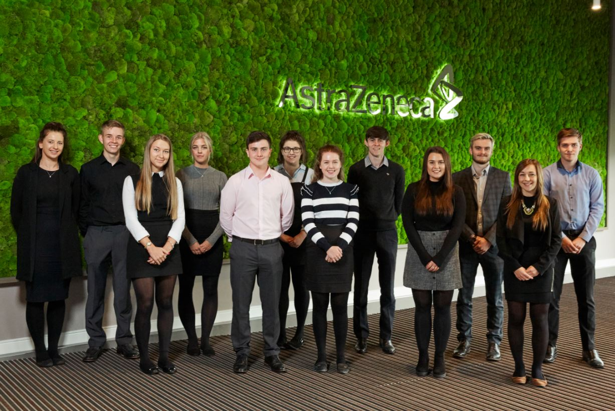 An image of AstraZeneca degree apprentices