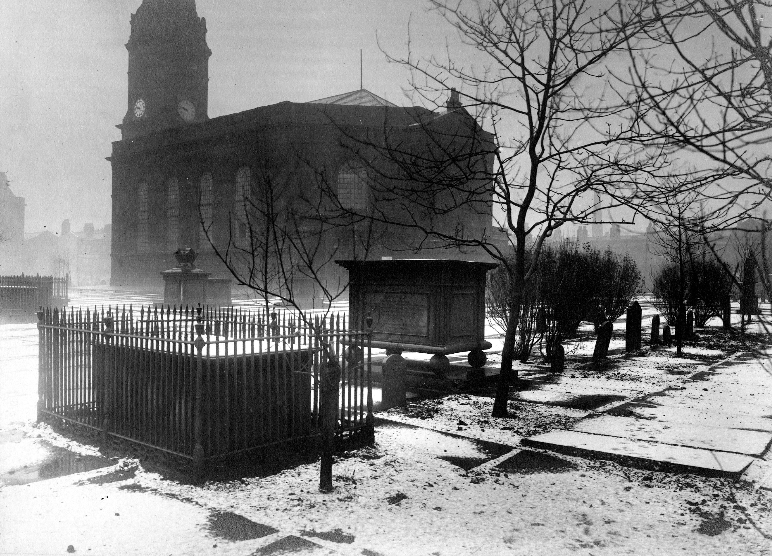 All Saints Church 1910 (Image courtesy of Manchester Libraries and Archives)