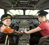 Image for High-flying lessons for Manchester children