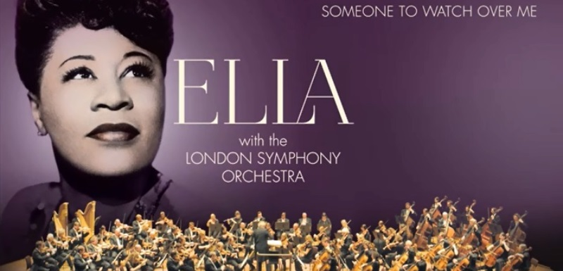 Ella Fitzgerald's 'new' album features London Symphony Orchestra and jazz singer Gregory Porter