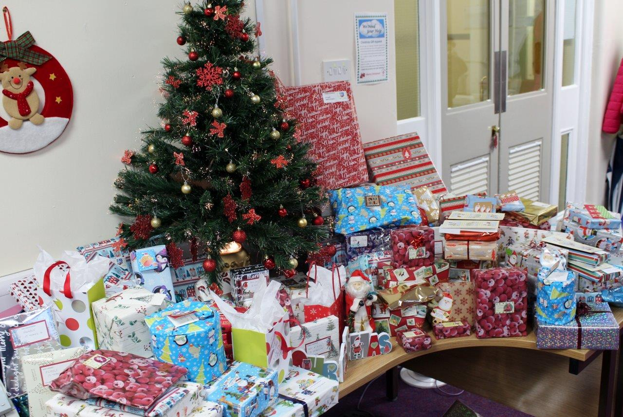 Staff donate over 100 gifts to Cheshire Without Abuse this Christmas