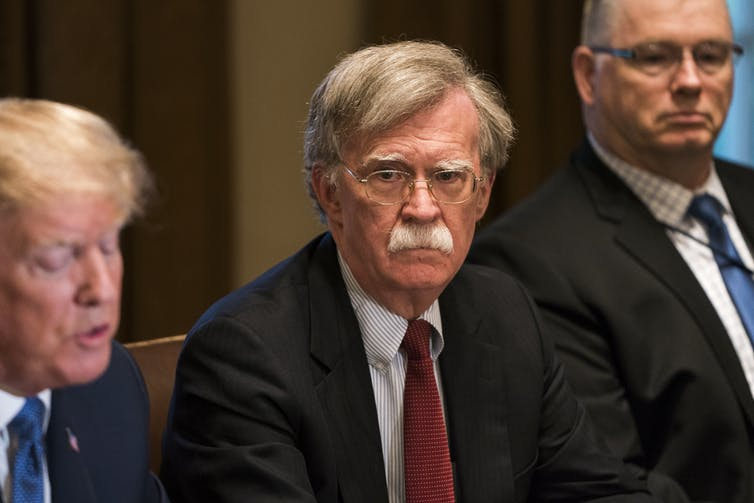 Donald Trump's national security adviser, John Bolton, is a longtime advocate of military action against Iran.  EPA/Jim Lo Scalzo