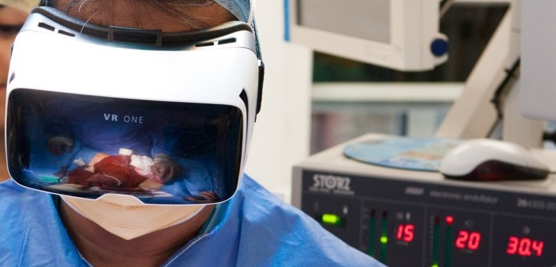 VR technology is revolutionising the way healthcare professionals are working