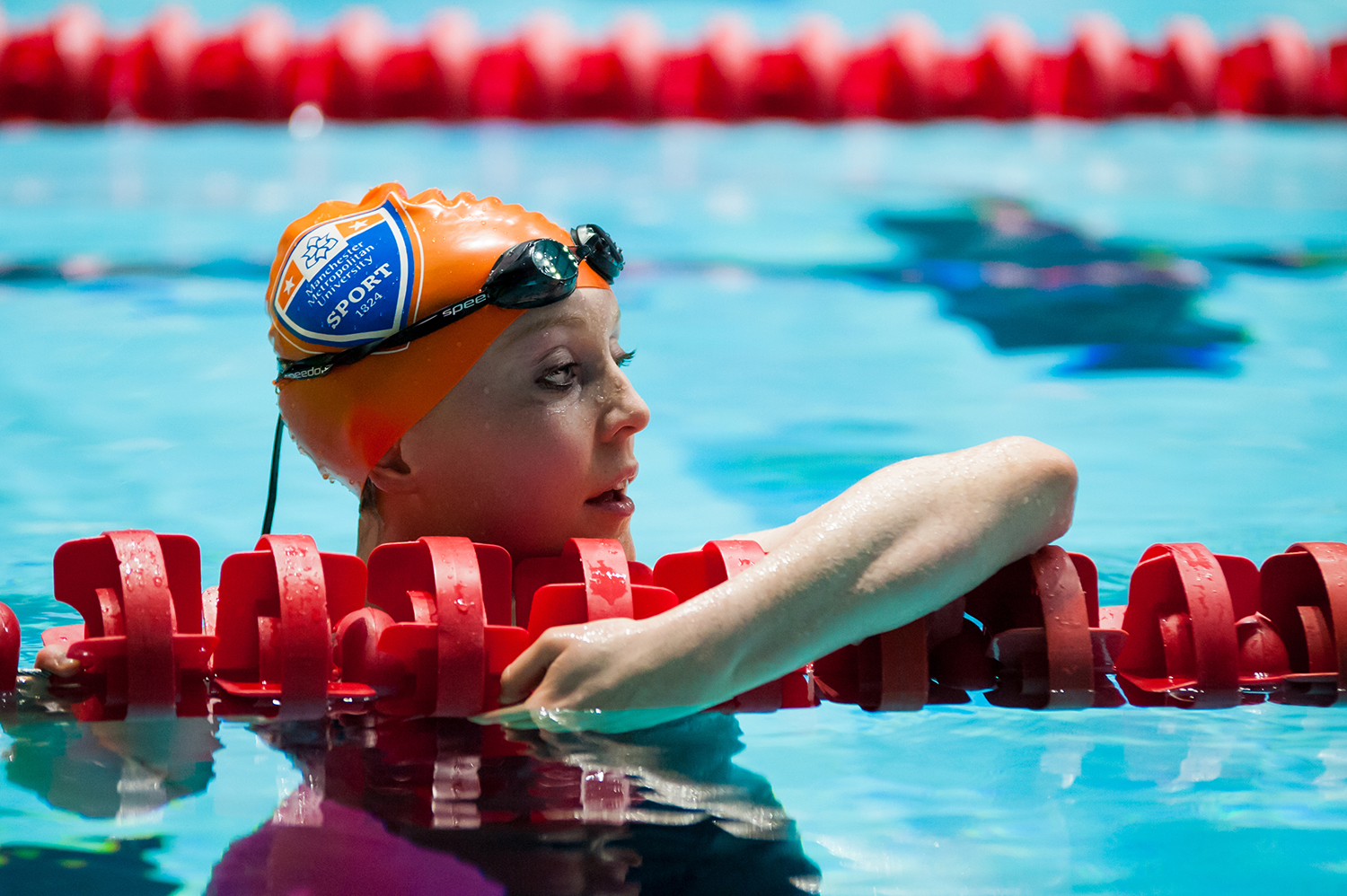 The University's Sport Scholar elite programme supports elite swimmers and para swimmers