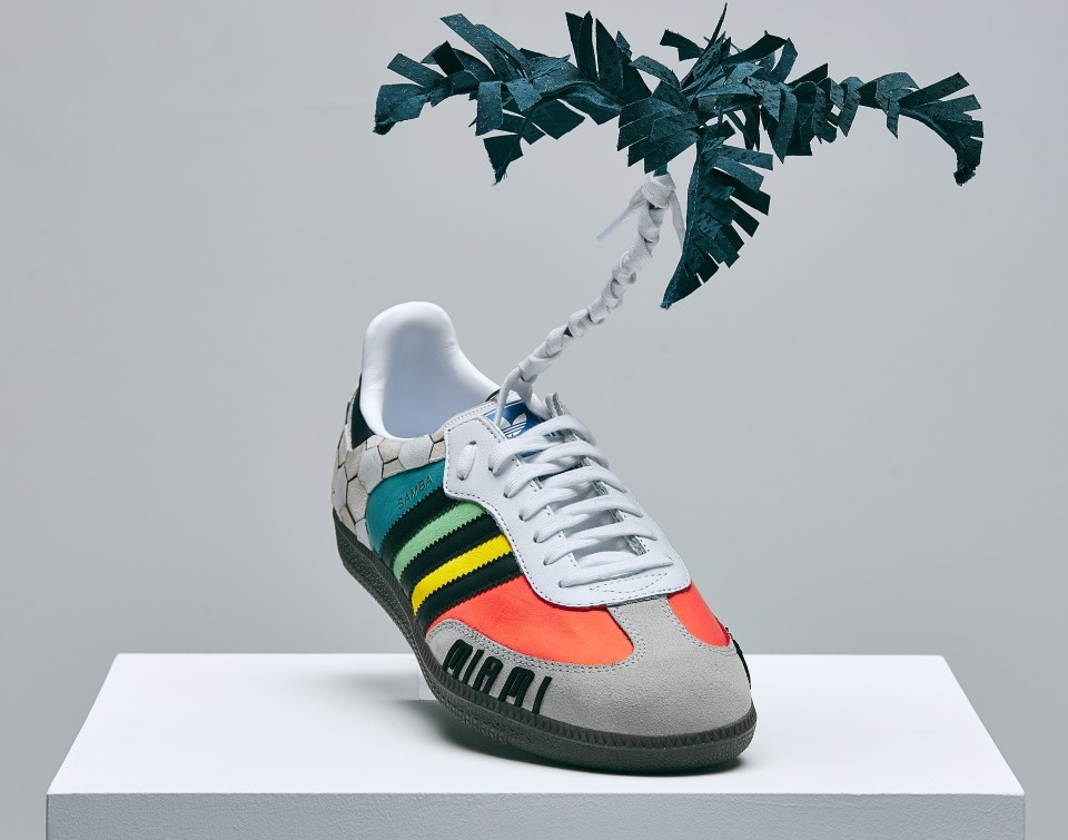 0d06ccc03d5c Fashion student joins David Beckham to design one-off charity Adidas shoe