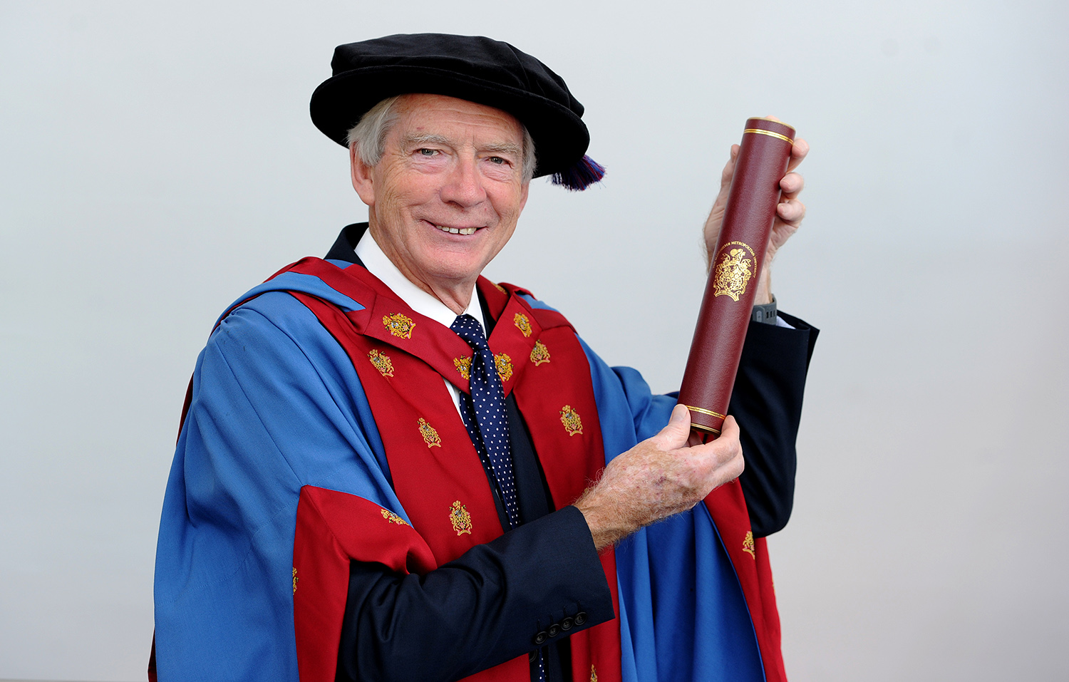 Professor Sir David Melville was awarded a Doctor of Science honorary degree