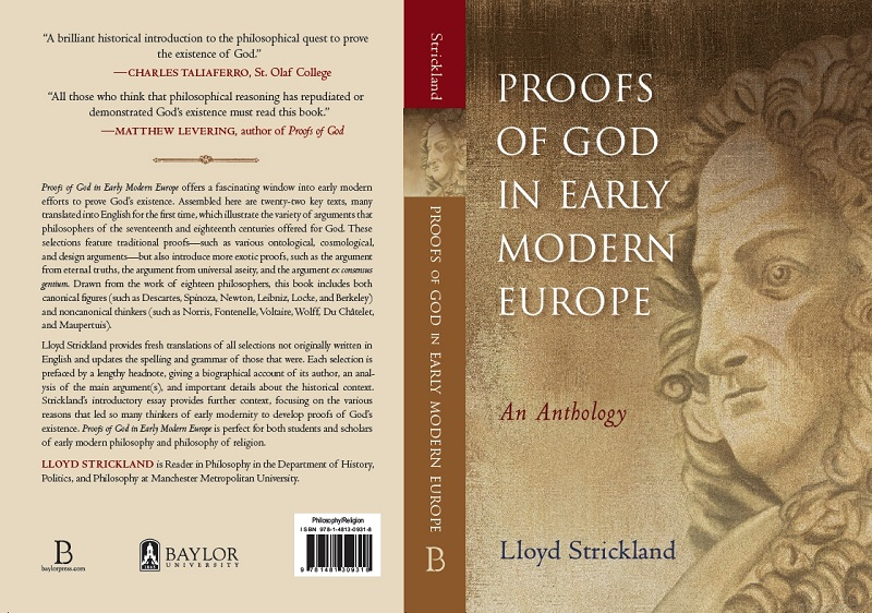 Proofs of God in Early Modern Europe book jacket