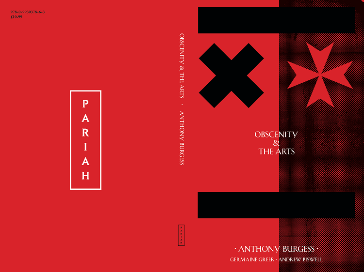The cover of the new edition of OBSCENITY & THE ARTS