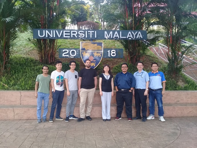 The Manchester Metropolitan University team with their University of Malaya colleagues