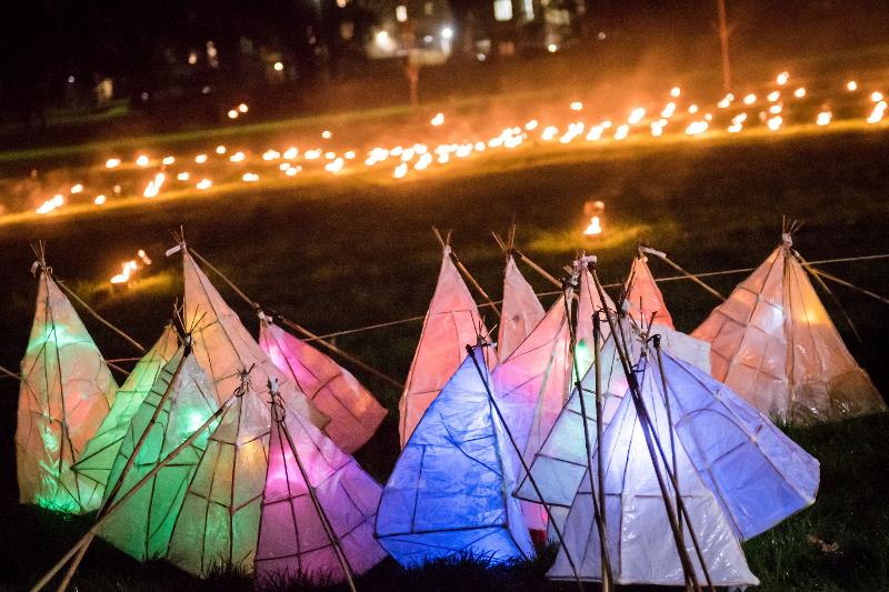 Gail Skelly is researching the importance of light festivals on communities