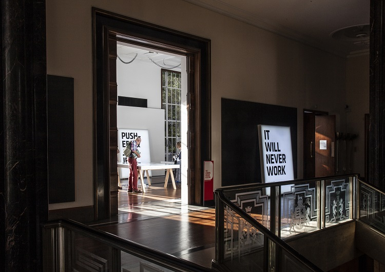 'It Will Never Work' exhibition in London