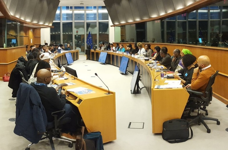 Dr Ornette Clennon contributed to a policy forum at the launch of the EU Commission report Being Black In Europe