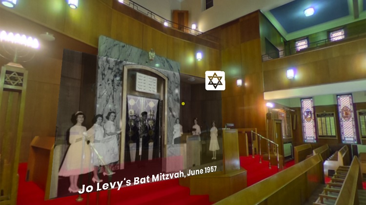 Researched worked with Archives+ to create a AR experience where memories, images and films were overlaid on the Manchester Reform Synagogue on Jackson's Row that is set to be demolished