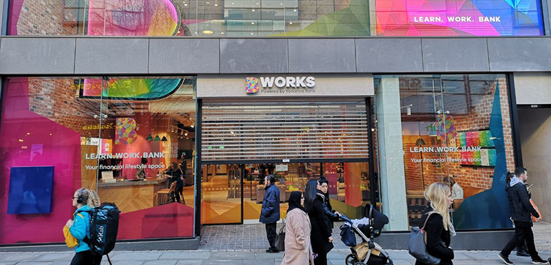 The new B Works store has opened on Market Street in the centre of Manchester